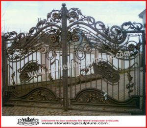 Wrought Iron Gate/ Wrought Iron Door (SK-5539) pictures & photos
