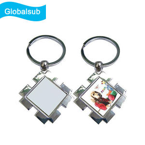 Dye Sublimation Metal Blanks Key Ring for Custom Design pictures & photos
