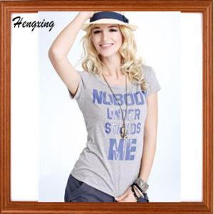 Women Cotton T Shirt pictures & photos