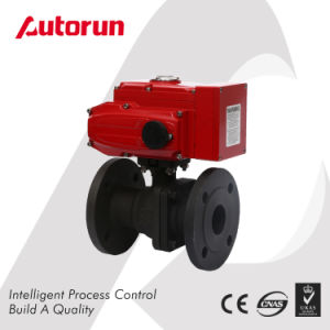 Explosion Proof Electric Wcb Flange Ball Valve pictures & photos