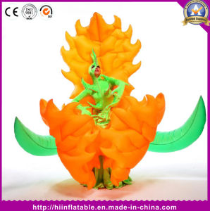 New Brand Romantic Party Decoration LED Illuminated Inflatable Costume