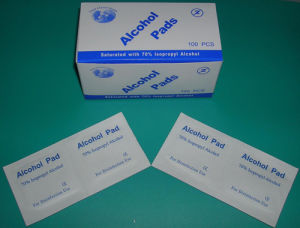CE/ISO Approved Medical Disposable Alcohol Pad/Alcohol Swab pictures & photos