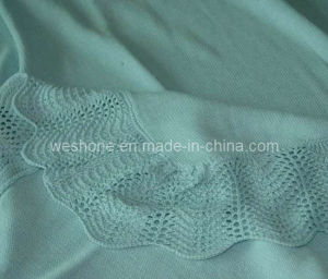100% Cotton Knitted Soft Baby Blanket pictures & photos