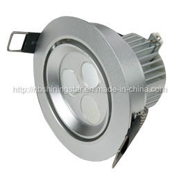 9W Alluminum LED Down Light with Embedded Type, LED Ceiling Light