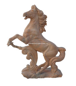 Stone Carving Horse Sculpture (6956) pictures & photos