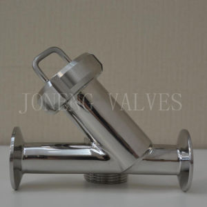 Stainless Steel Sanitary Clamped Y Type Strainer pictures & photos