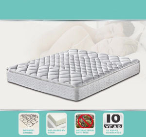 Euro Box Top Spring Compression Spring Mattress pictures & photos