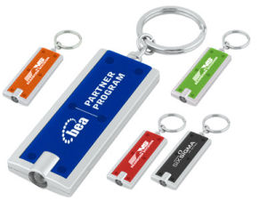 a Rectangle Shaped LED Key Ring (ZS-900)