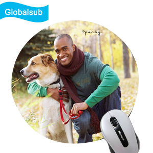 Plain Thick Print Round Mouse Pad Personalized