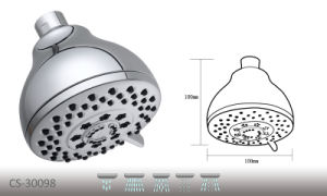 "CS-30098 5-Function Water Sense 4"" Shower Head pictures & photos"