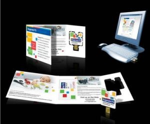 Promotion Gift Webkey Card Webkey Paper Webkey Auto Play Website Gift pictures & photos