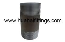 Black Carbon Steel DIN2999 Weld Threaded End Pipe Nippl