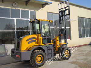 Diesel Forklift Cpcy30 with Heap Price pictures & photos