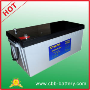 2015 New Design 12V 200ah Deep Cycle Gel Solar Battery for PV System pictures & photos