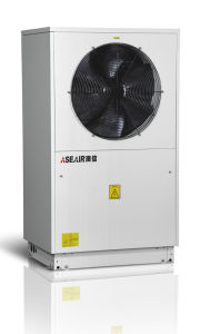 Air Source Heat Pump for House Heating and Domestic Hot Water