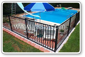 Hot-Dipped Welded Wire Mesh Swimming Pool Fence (Anjia-023) pictures & photos
