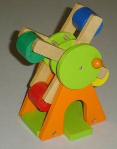 Wooden Toys - Wooden Pinwheel (ZYYB-0601)