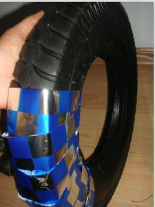 Tire and Tube with Color Belt Packing pictures & photos