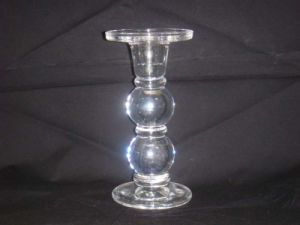 Borosilicate Glass Candlestick pictures & photos