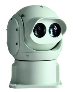 Outdoor Vandal Proof HD Thermal Laser PTZ Camera pictures & photos