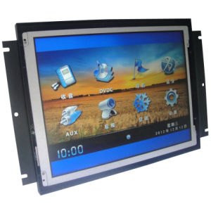 Open Frame Industrial LCD Monitor with Touch Screen (AT-S104P21_01L)