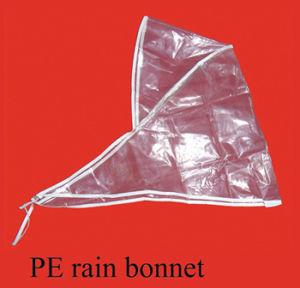 PE Rain Bonnet