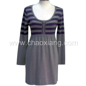 Lady′s Knitting Pullover (CX-AS-004L)