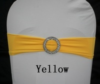 Lycra Bands With Buckle Yellow