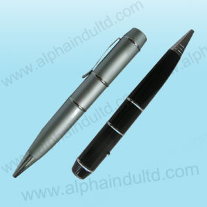 Pen USB Flash Drive With Laser Point (ALP-028U) pictures & photos