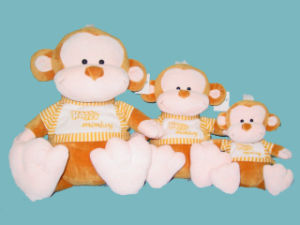 Plush Toy (Happy Monkey)