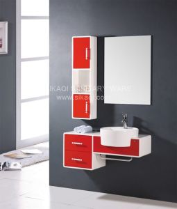 Bathroom Cabinet with PVC Material pictures & photos