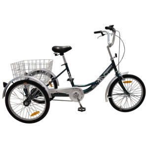 "Cheap 24"" Single Speed Cargo Delta Tricycle pictures & photos"