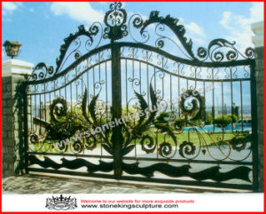 Wrought Iron Gate/ Iron Door (SK-5538) pictures & photos