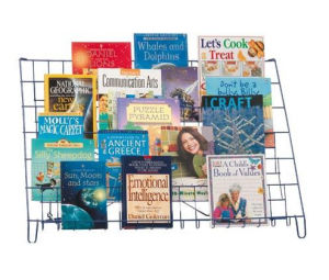 Wire Book Holding Rack