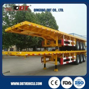 50 Ton Flatbed Container Semi Trailer to Africa pictures & photos