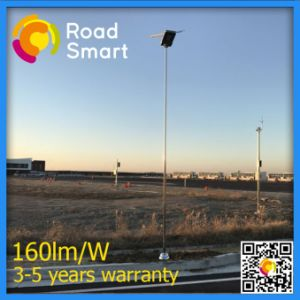 20W Integrated Solar LED Street Light with Motion Sensor pictures & photos