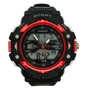 Multifunction Japan Quartz Digital Watch 50m Waterproof pictures & photos