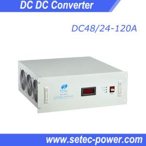 DC Telecom Converter, 48V DC to 24V DC, 3000W (SETDC48/24-120A) pictures & photos