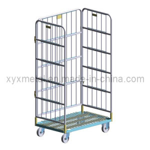 New Style 3 Sides Multilevel Adjustable Muti-Function Roll Container pictures & photos