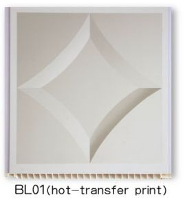 PVC Panel (hot transfer - BL01) pictures & photos