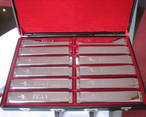 24 Hole 12-Tune Set-Packing Harmonica (SW24-12T)