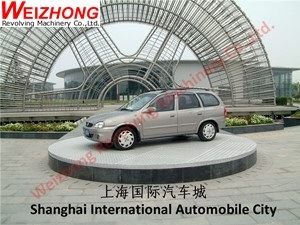 Weizhong Revolving Plaform Car Turntable pictures & photos