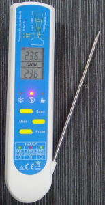 HACCP Lab Grade 2 in 1 Thermometer (AMT206) pictures & photos