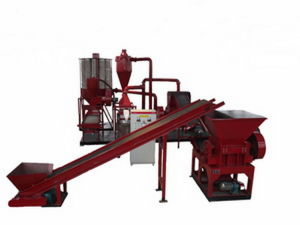 Waste Copper &Aluminum Wire&Cable Recycling Machine