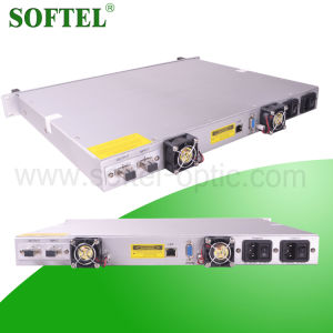 1550nm FTTX Pon Optical Erbium-Doped Fiber Amplifier (EDFA) with Output Optical Power of 18dBm for CATV Network pictures & photos