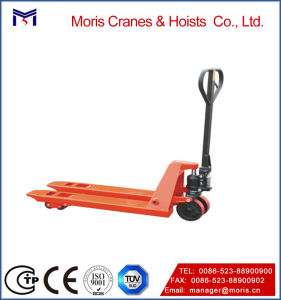 Professional Industrial Hand Pallet Jack Truck Polyurethane Wheels pictures & photos