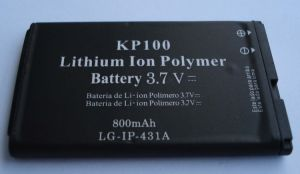 Mobile Phone Battery for LG KP100
