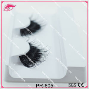Hot Top Quality Human Hair Eyelash pictures & photos