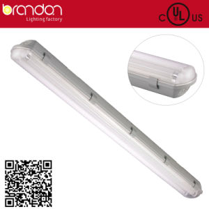 Twin Tube IP65 Vapor Tight Lighting Fixture (MX482B-Y32x2)