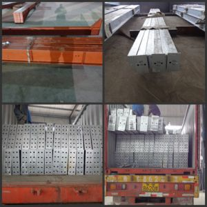 Painted/Galvanized Construction Steel Structure Profile pictures & photos